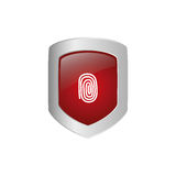 Security system technology. Icon  illustration graphic design Royalty Free Stock Photography