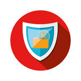 Security system technology. Icon vector illustration graphic design Stock Photo