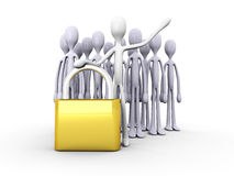 Security Team Royalty Free Stock Photo