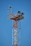 Security tower Royalty Free Stock Images