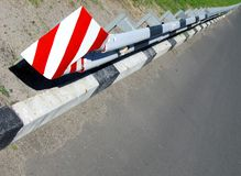 security transportation road barrier Stock Photo