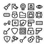 Security Vector Icons 6 Stock Photography