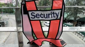 Security vest Royalty Free Stock Photos