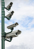 Security Video Camera Stock Photography