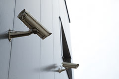 Security video camera Royalty Free Stock Photo