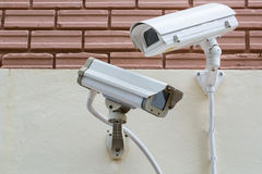 Security Video Camera CCTV ,record monitor Royalty Free Stock Photography