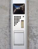 Security video intercom Stock Photography