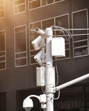 Security Video Surveillance Camera Royalty Free Stock Photo