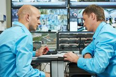Security video surveillance Stock Photography