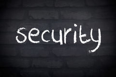 Security Wall Concept Royalty Free Stock Photo