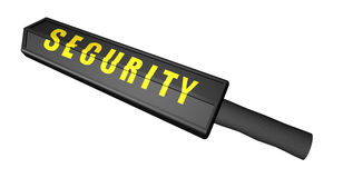 Security Wand Royalty Free Stock Image