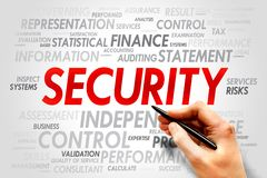 SECURITY Royalty Free Stock Photography