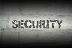 Security WORD GR Royalty Free Stock Images