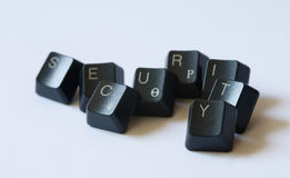 Security word stock photography