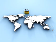 Security in the World Royalty Free Stock Photo