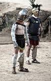 Secutor gladiator introduction Stock Photos