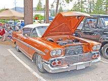 Sedán 1958 de Chevrolet Imagen de archivo libre de regalías
