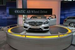 Sedán 2013 de la clase de Mercedes 4Matic E Fotografía de archivo