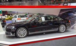 Sedán 2019 de Audi A8 imágenes de archivo libres de regalías