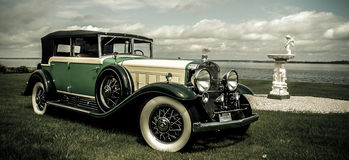 Sedán 1930 de Cadillac Fleetwood Imagen de archivo libre de regalías