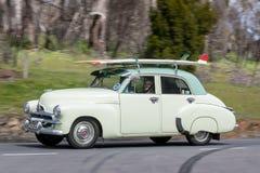 Sedán 1955 de Holden FJ fotos de archivo libres de regalías