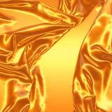 Seda abstracta en el viento ilustración del vector