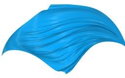 Seda abstrata no vento Imagem de Stock Royalty Free