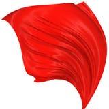 Seda abstrata no vento Fotos de Stock Royalty Free