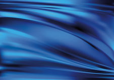Seda azul ilustración del vector