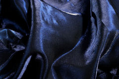 Seda azul Imagem de Stock Royalty Free