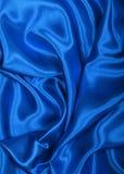 Seda azul elegante lisa como o fundo fotos de stock