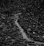 Seda Buddhist Town near Tibet stock image