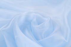 Seda da rosa do azul Imagem de Stock