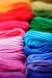 Seda del arco iris Imagen de archivo libre de regalías