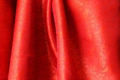 Seda indiana vermelha Imagens de Stock Royalty Free
