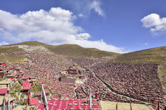 Seda Institute buddhism of architecture panoramic view! Stock Images