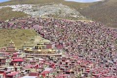 Seda Institute buddhism of architecture panoramic view! Royalty Free Stock Photo