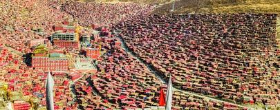 Seda Larong Wuming buddhism college Royalty Free Stock Photo