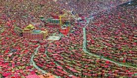 Seda Larong Wuming buddhism college Stock Photography