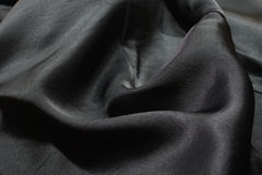 Seda negra Imagenes de archivo