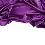 Seda púrpura Imágenes de archivo libres de regalías