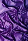 Seda púrpura Fotografía de archivo