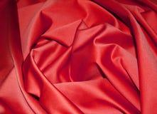 Seda roja. Foto de archivo