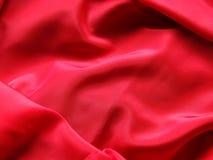 Seda roja Foto de archivo libre de regalías