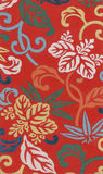 Seda roja antigua Imagen de archivo libre de regalías