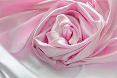 A seda romântica aumentou Foto de Stock Royalty Free