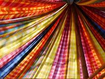 Seda tailandesa de Colourfull Fotografia de Stock Royalty Free