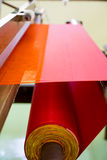 Seda vermelha Foto de Stock