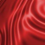 Seda vermelha Fotografia de Stock Royalty Free