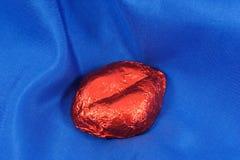 Seda y labios Imagen de archivo libre de regalías